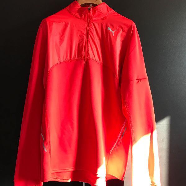 Blusa térmica puma vermelha ferrari - produto original