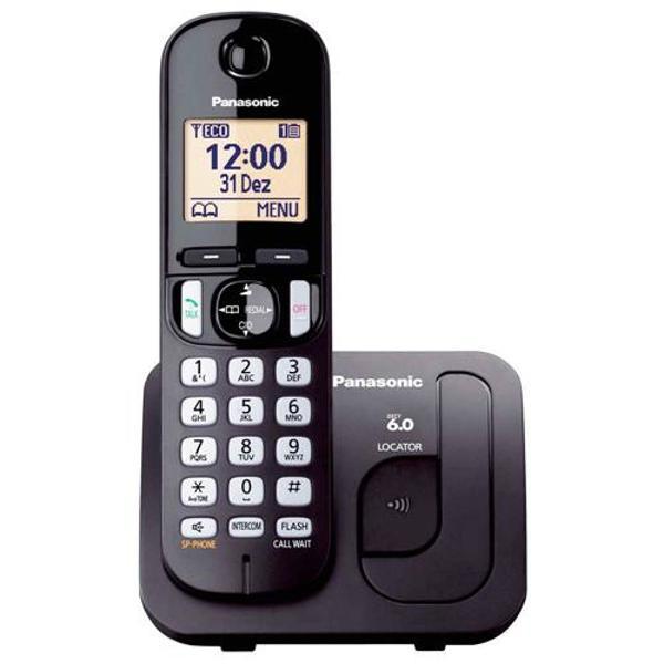 Telefone sem fio panasonic kx-tgc210lbb