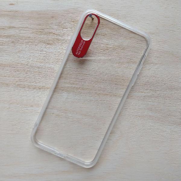 Capinha case transparente iphone xs max +película brinde