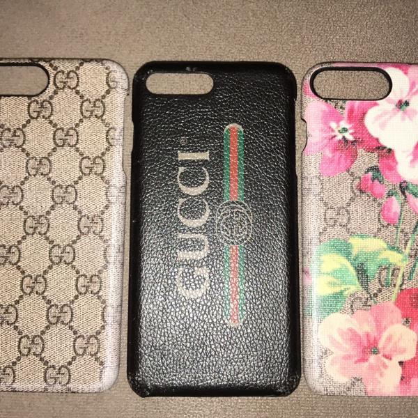 Gucci kit capas iphone 8 plus