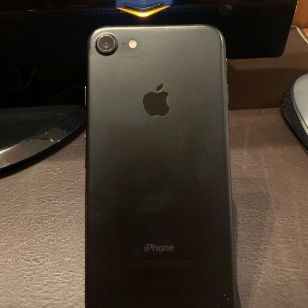 Iphone 7 32gb matte black unico dono 2017