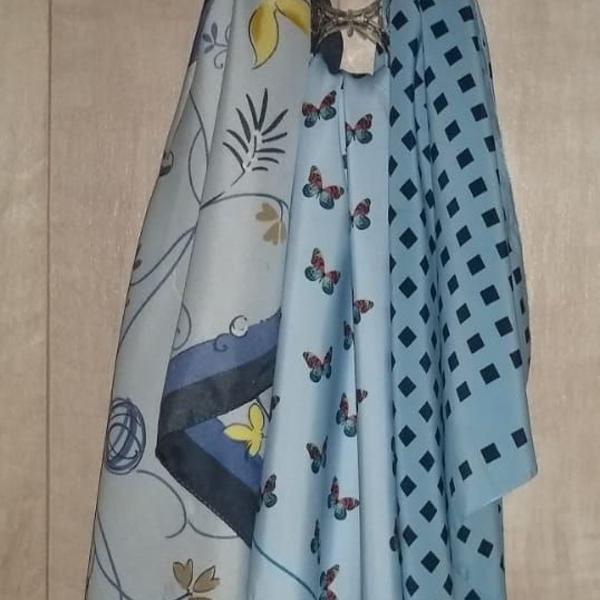 Kit de lenços femininos de seda