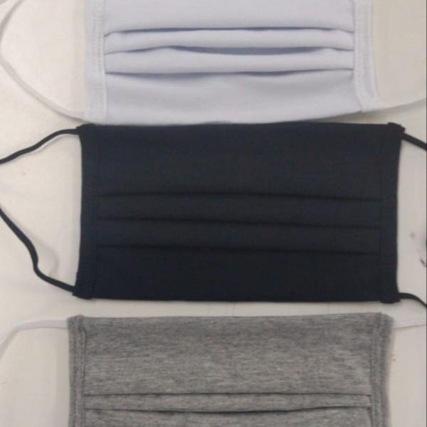 Kit máscara de tecido c/3