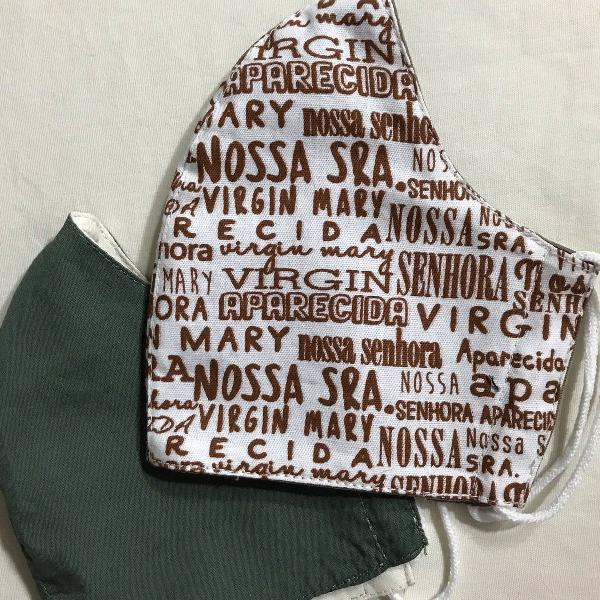 Máscara de tecido personalizado