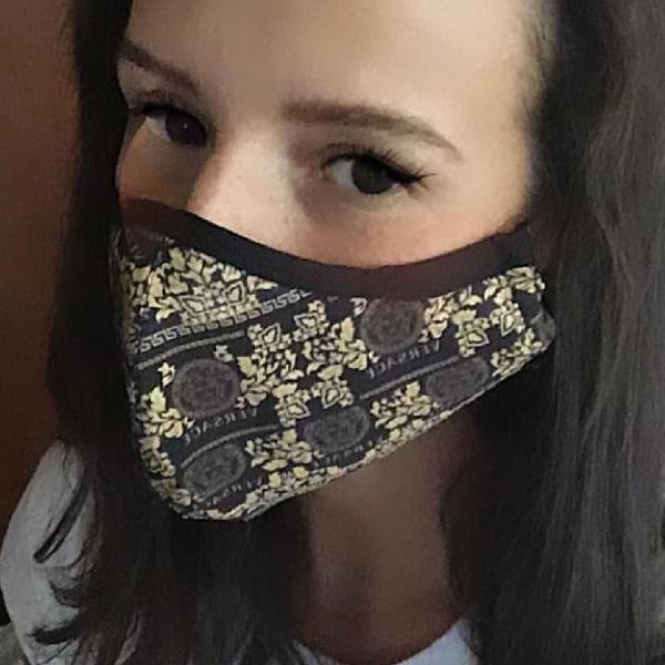 Máscara proteção versace