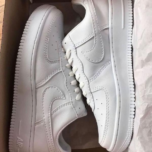 Tênis air force 1 branco unissex