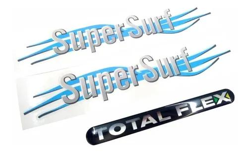 Adesivo super surf saveiro parati volkswagen + total flex 04
