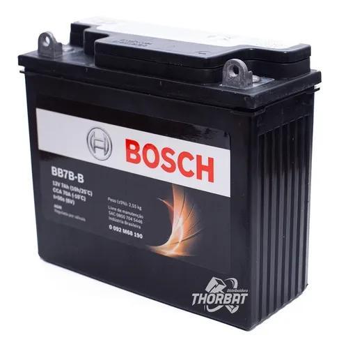 Bateria moto bosch xr 200/nx 350 sahara 12v 7ah bb7b-b