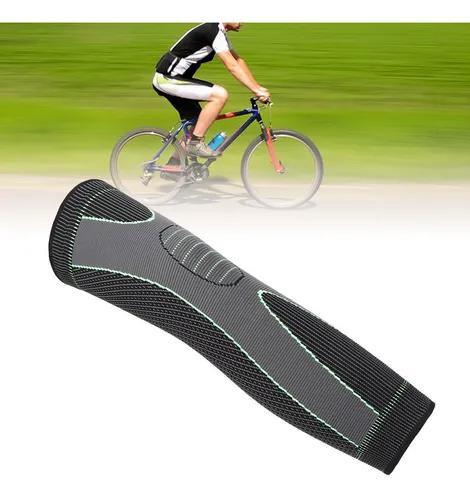Compressão kneepad alongado esporte perna protetor manga br