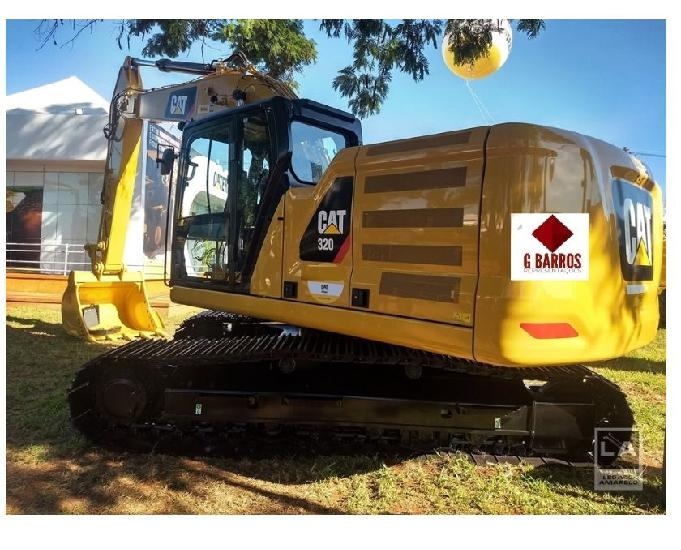 Escavadeira caterpillar 320 peso op: 20.903 kg 2020
