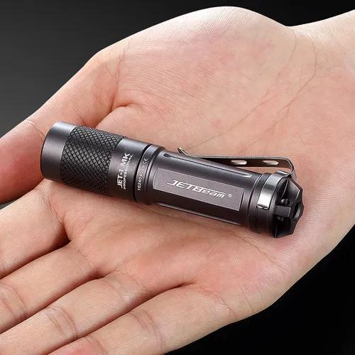 Jetbeam jet-1 mk xp-g2 480 lumens mini portátil à prova d'
