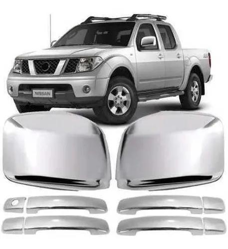 Kit Apliques Cromados Completo Nissan Frontier 2008 A 2016
