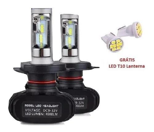 Kit lampada farol ultra led 6000k 45w 9000 lúmens tipo