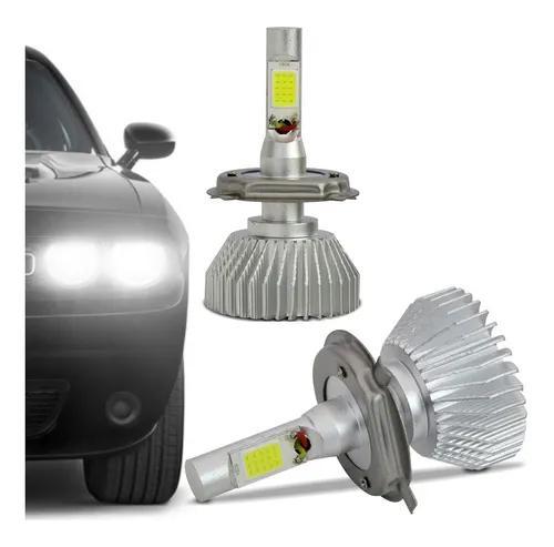 Par lâmpadas super led h4 6000k 48w universal carro