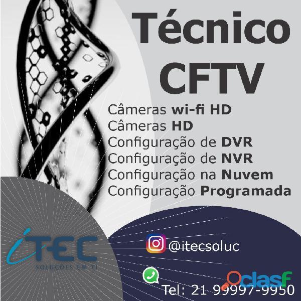 Técnico de Informatica | Técnico de Redes de Computadores | Câmeras de Segurança 5