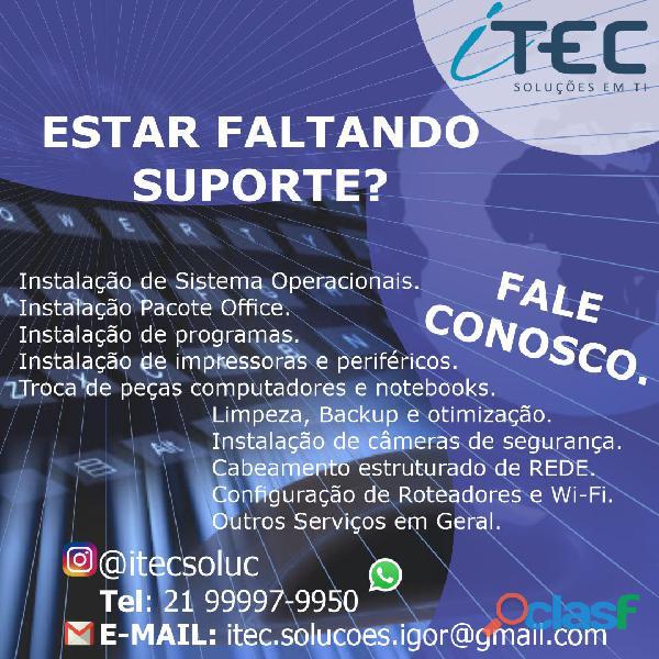 Técnico de Informatica | Técnico de Redes de Computadores | Câmeras de Segurança 11