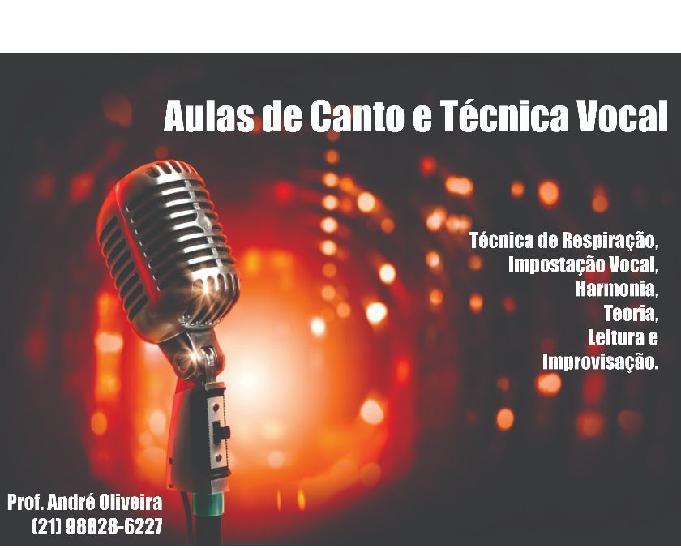 Aulas de canto e técnica vocal. rj