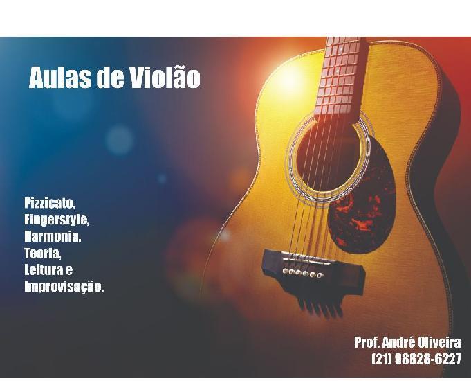 Aulas de violão.