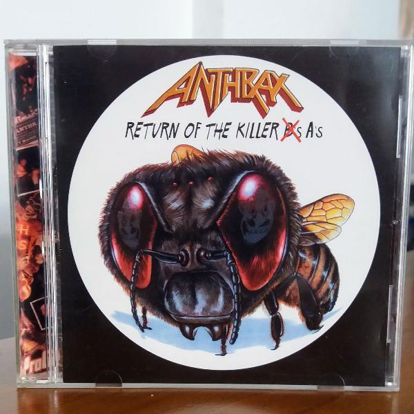 Cd anthrax - return of the killer a's