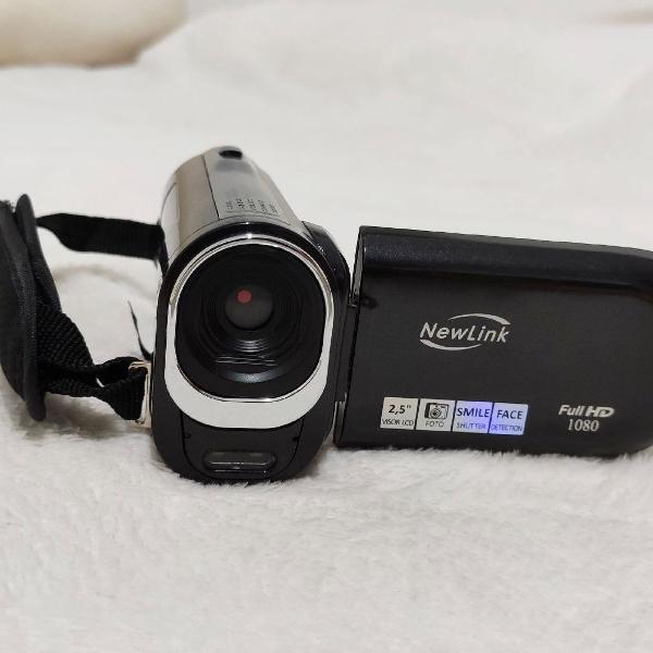 Filmadora digital newlink full hd