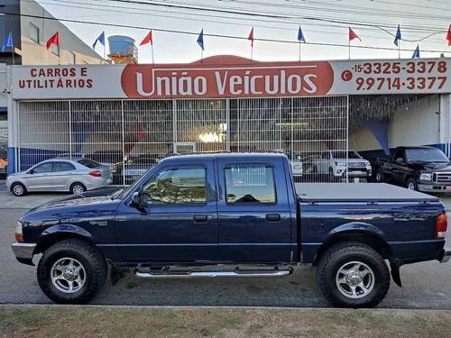 Ford ranger 2.5 xlt 4x4 cd 8v turbo intercooler diesel 4p