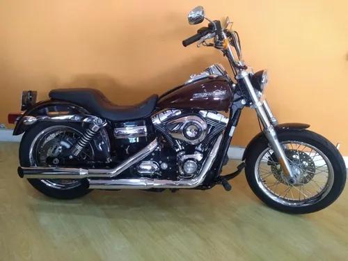 Harley Davidson Dyna 1.600 2011 Vermelha