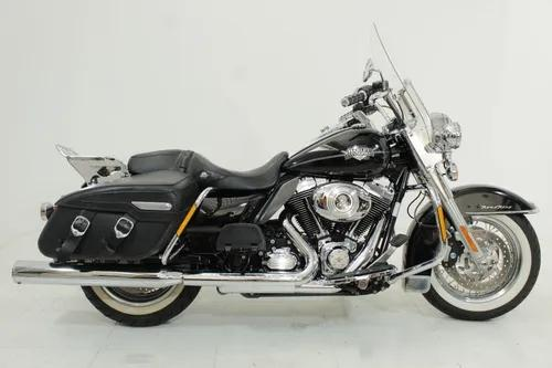 Harley davidson road king classic 2013 preta