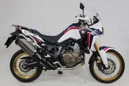 Honda crf 1000l africa twin abs 2018 branca