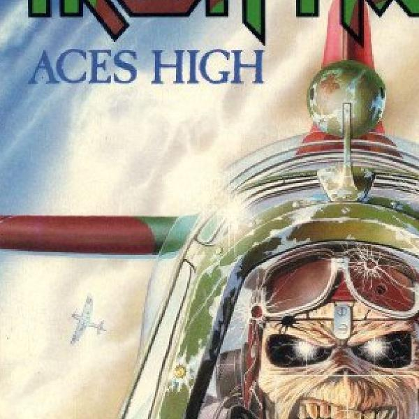 IRON MAIDEN - LP VINIL ACES HICH MAXI SINGLE