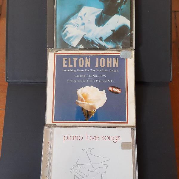 Kit elton john 5 cds raros! item de colecionador