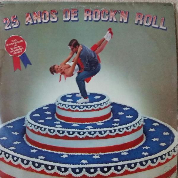 Lp vinil - 25 anos de rock 'n roll