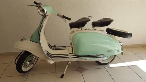 Lambretta Li Série Brasil - Placa Preta Ano 1966 Fbva Linda