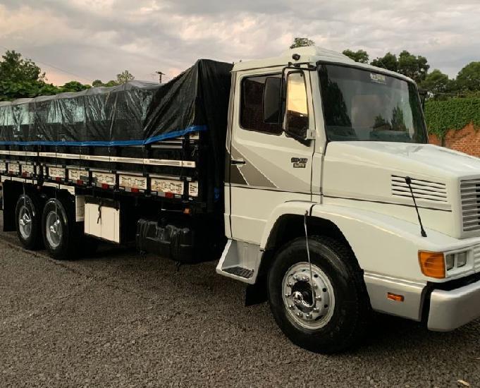 Mb 1618 1995 truck turbo reduzida graneleira, impecavel