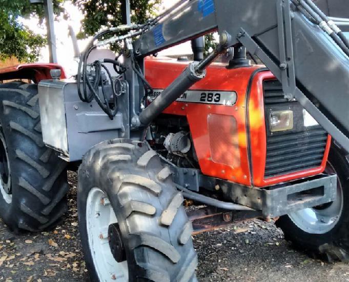 Mf 283 2005 4x4 turbo ú. dono +lamina concha e grade