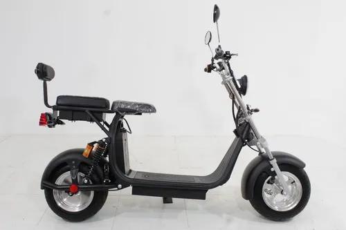 Moto elétrica scooter full electric custom 2020 preta