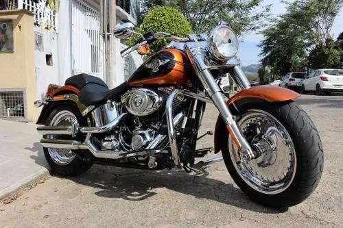 Moto harley davidson fatboy 2015 5900 km