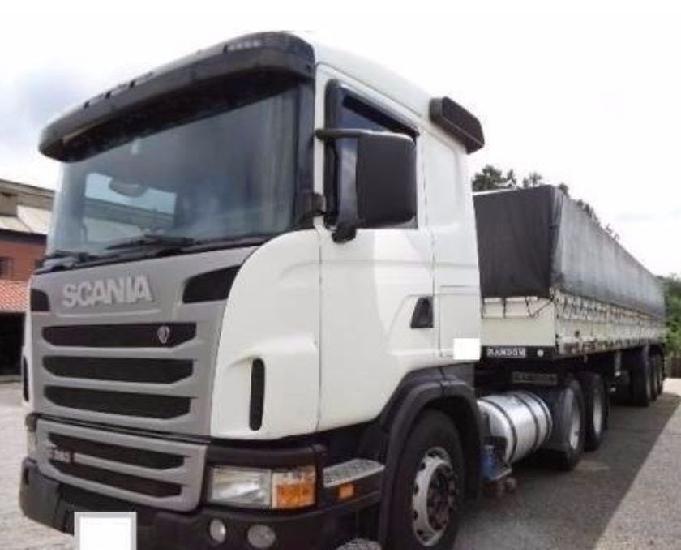 Scania g 380 6x2 ano 2011 com carreta ls rondon