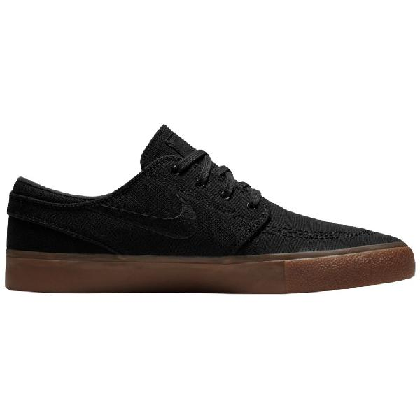 Tênis nike sb zoom janoski canvas rm black gum light brown