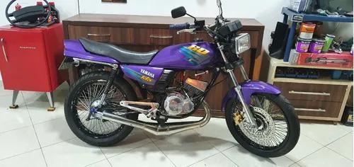 Yamaha rd 135 preparada, moto muito nova 1998