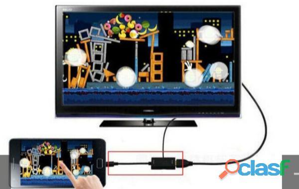 Adaptador de celular para tv