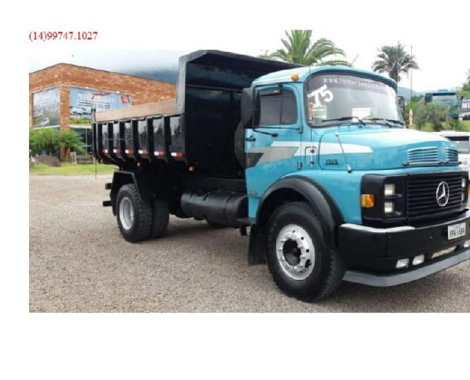 Caminhão mb 1313 ano 1975 caçamba