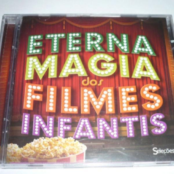 Cd eterna magia dos filmes infantis semi novo, duplo