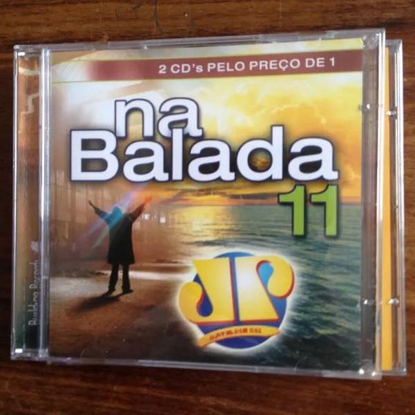Cd na balada 11 cd duplo ( cd difícil )