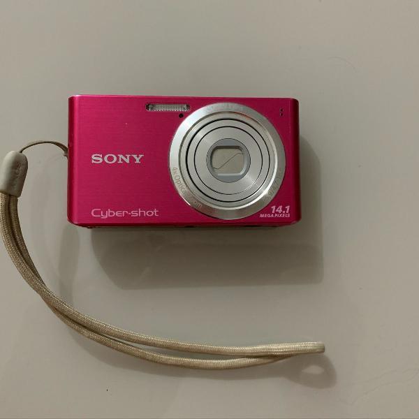 Câmera digital compacta sony cyber-shot 14.1 megapixels