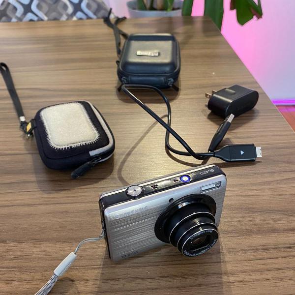 Câmera digital samsung sl420 importada de nyc acompanha