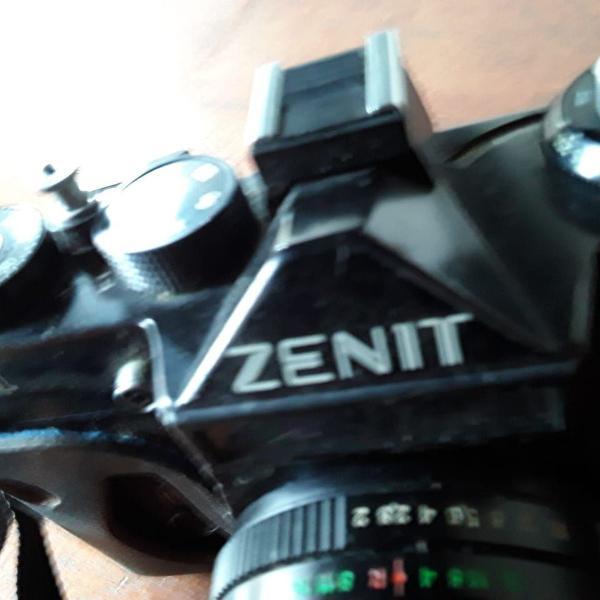 Câmera fotográfica zenit para colecionadores