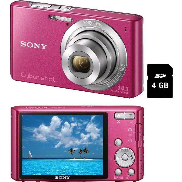 Câmera samsung rosa