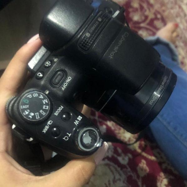 Câmera sony cyber shot - semi profissional dsc hx1