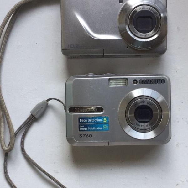 Câmeras fotográficas digitais