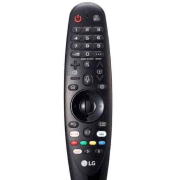 Controle remoto magic original para tv lg an-mr19ba preto